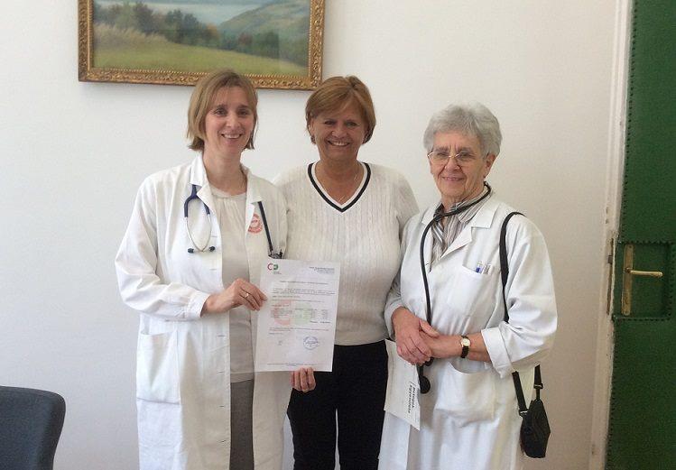 Tüdőklinika átadás
